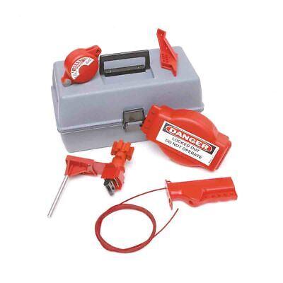 Brady Lockout Kit 99320 Gate Valve Lockout Toolbox Kit Without Padlocks