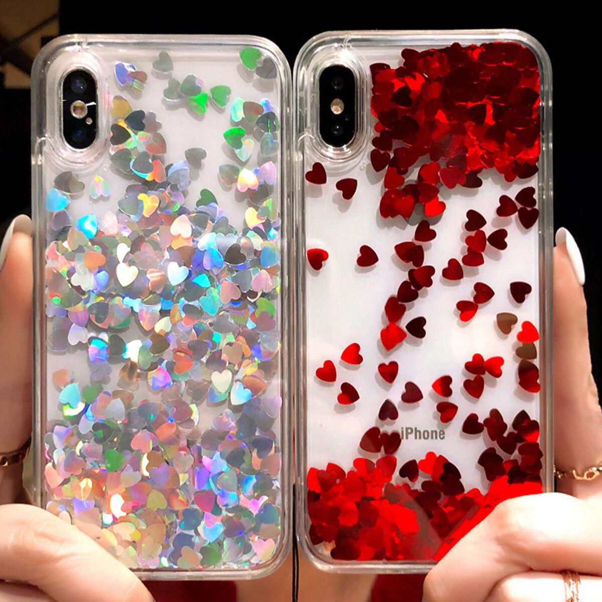 Iphone 11 Pro Max 8 Plus 6 7 Plus XS MAX XR Bling Glitter Cu