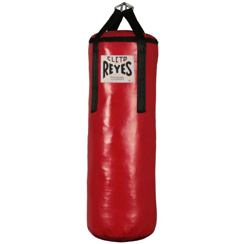 "Cleto Reyes Large 38x14"" Unfilled Nylon-Canvas Punching Heavy Bag"