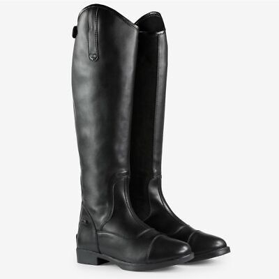 Horze Rover Synthetic Dressage Tall Riding Boots with Rubber Sole
