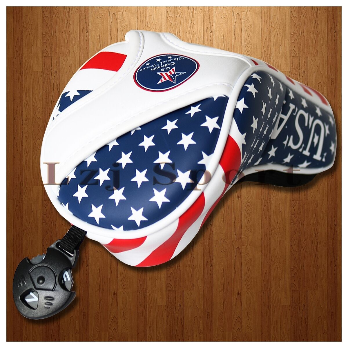 USA Flag Star Golf Club Headcover Cover Tag For Taylormade