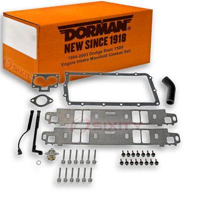 Dorman Lower and Upper Intake Manifold Gasket Set for Dodge Ram 1500 - 1500 Intake Manifold Gasket