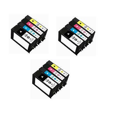 12 Lexmark 100xl Ink Cartridges For Lexmark Impact S301 S...