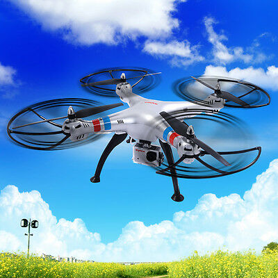 Syma X8G 4CH Gyro RC Quadcopter Explorers Drone 8MP HD Camera UAV RTF UFO New