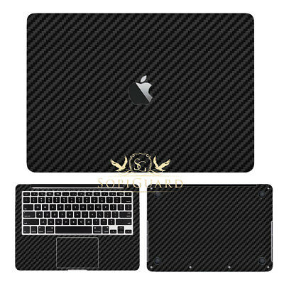 SopiGuard Carbon Fiber Skin Vinyl for Apple Macbook Pro 13 Non Retina A1278