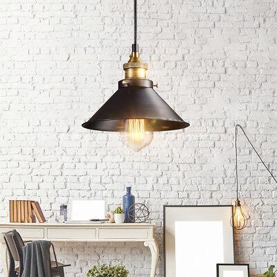 Vintage Industrial Pendant Retro Loft Home Ceiling Light Metal Lamp Fixture -