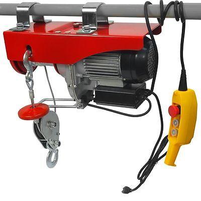 2000lb Brand New Electric Motor Hoist Winch Hoist Crane Lift Overhead 2000 lb