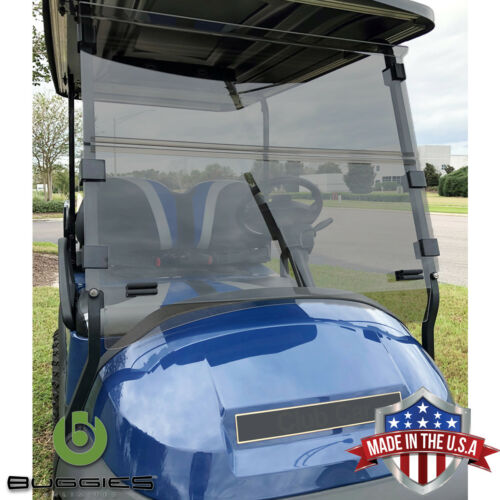 Buggies Unlimited Club Car Precedent Folding Golf Cart Tinted Windshield