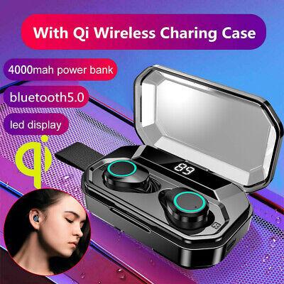 X6 Pro IPX7 Bluetooth 5.0 Wireless Sports Headset In-Ear Earbuds TWS 4000mAh UK