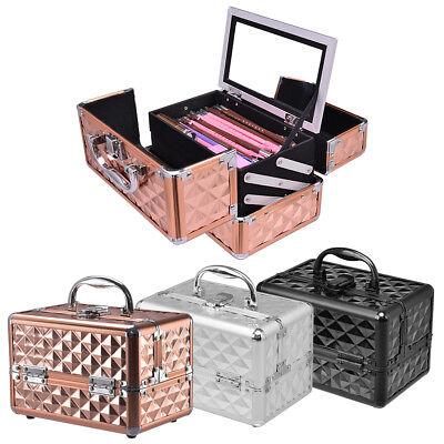 Kosmetikkoffer mit spiegel Beauty Case Schminkkoffer Schmuckkoffer Multikoffer