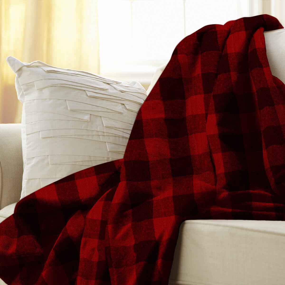 Sunbeam Heated Electric Microplush Throw Blanket with 3 heat