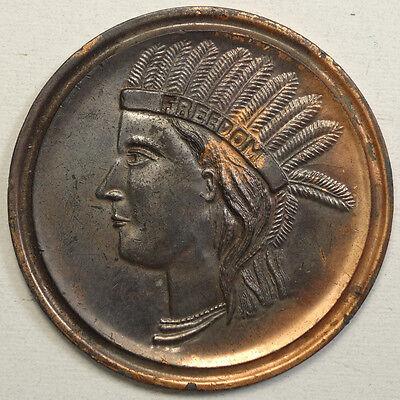 1915 Panama-Pacific International Expo, Souvenir Large Lucky Penny, RARE DESIGN
