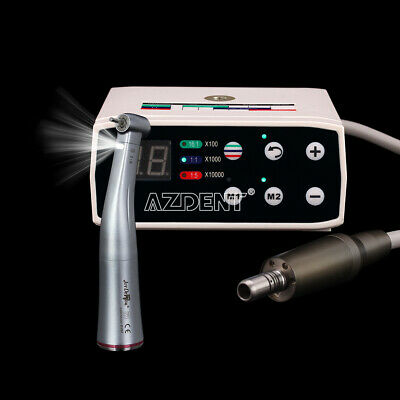 Dental Nsk Style Brushless Led Electric Micro Motor 15 Contra Angle Handpiece