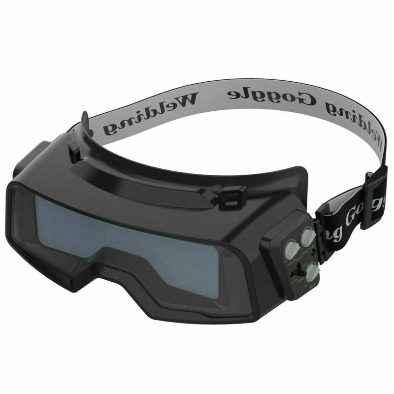 Auto Darkening 1/1/1/2 lenses Welding Goggles for Weld/ Cut/ Grind