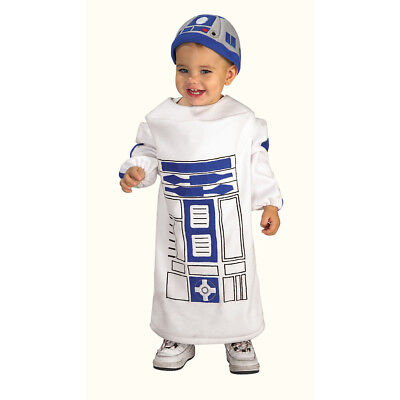 Star Wars Baby Bunting R2D2 Costume - Size: Toddler | Rubies 885310 (R2d2 Baby Kostüme)