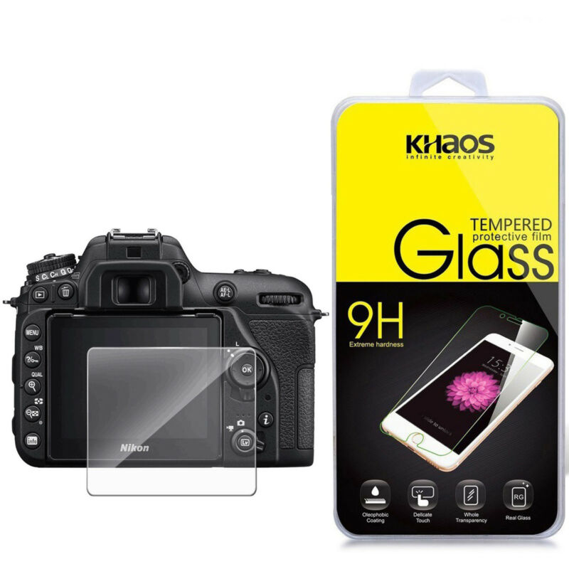 Khaos For Nikon D7500 Tempered Glass Screen Protector