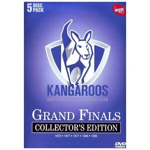AFL North Melbourne Grand Finals DVD box set Kew Boroondara Area Preview