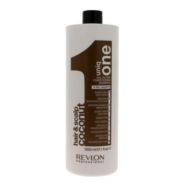 Revlon Uniq One conditioning shampoo 1000 ml at coconut