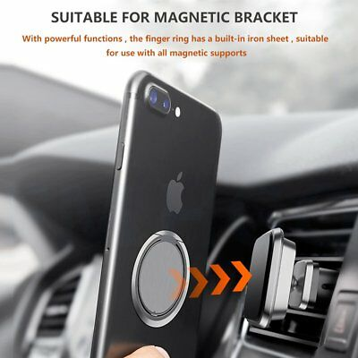 ULTRA THIN Finger Grip Ring Phone Holder for Mobile Phone iPhone Tablet 4 COLOR