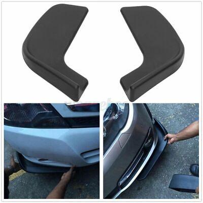 2Pcs Universal Car Bumper Spoiler Front Shovel Protector Scratch Resistan