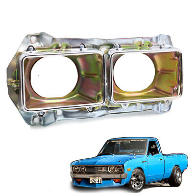 LH Frame Head Lamp Light Housing Bucket Chrome Fits Datsun Pickup 720 80 - 1991 for sale  Shipping to Canada