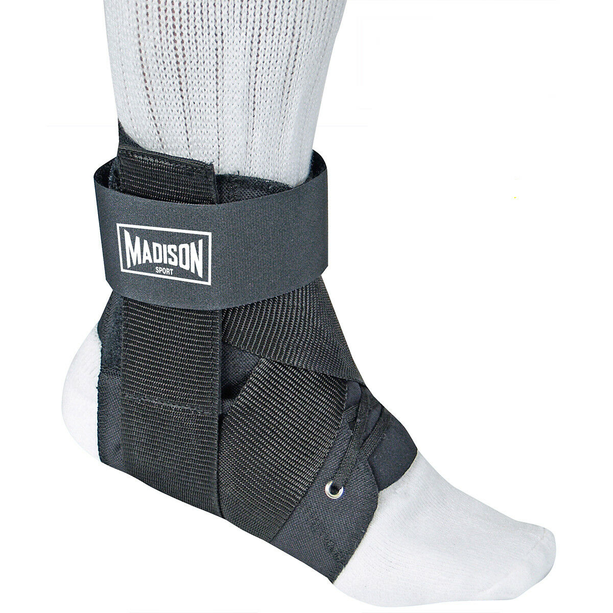 Shock Doctor SONIC Ankle Brace Advanced Strapping and Flex-Support In Med//Lge