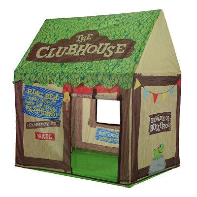 Kids Play Tent Children Playhouse Indoor Outdoor Tent Model Clubhouse Green  Kids Indoor Play Tent