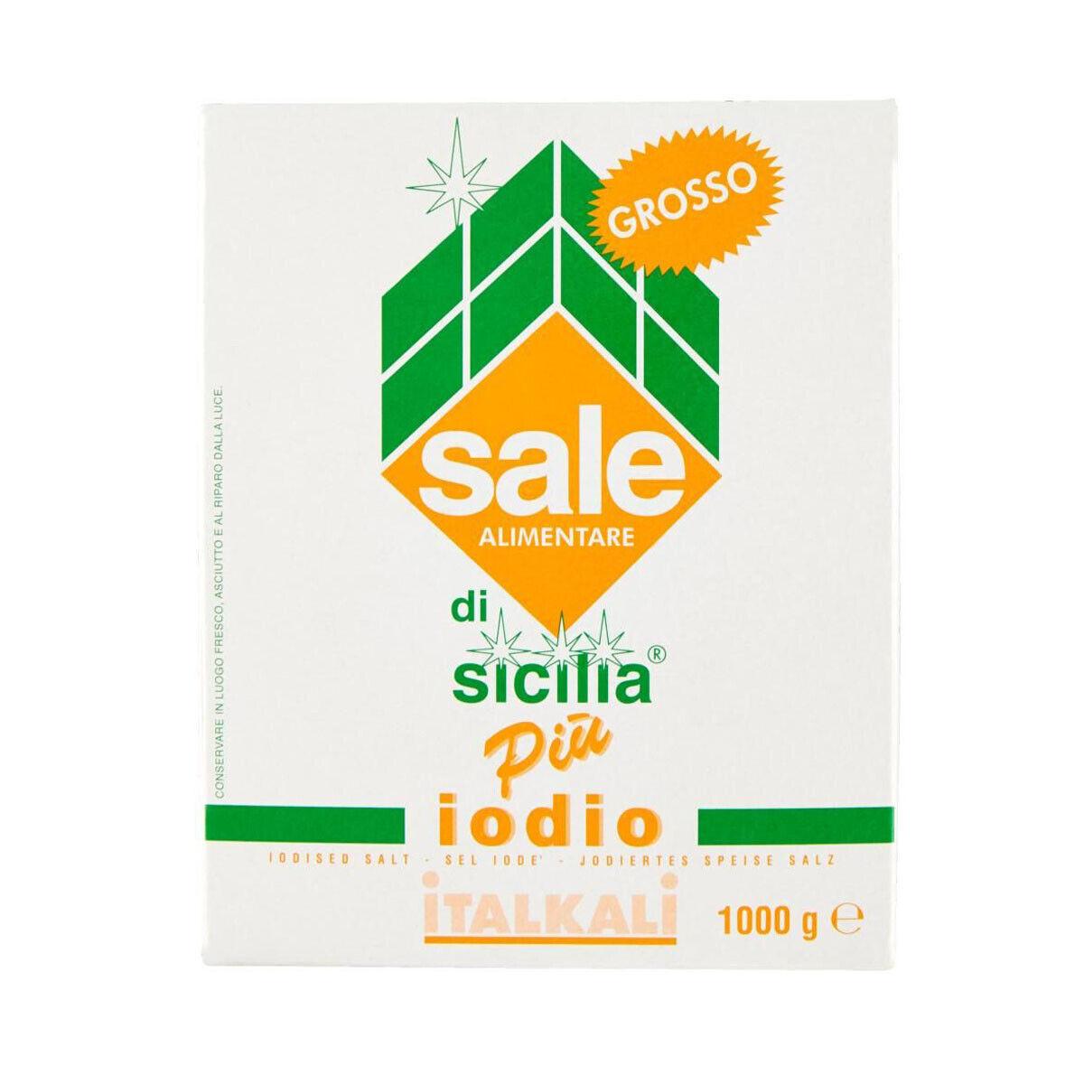 5,90 € per Sale Di Sicilia Più Iodio Grosso Confezione Da 1kg Italkali  su eBay.it