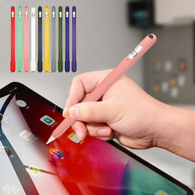 For Apple Pencil 1st Generation Soft Silicone Pen Sleeve Protective Case - Silicon Protective Sleeve