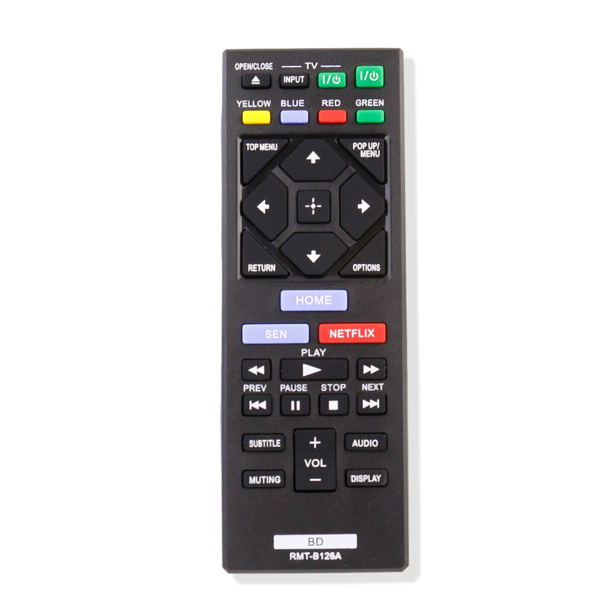 New RMT-B126A Replacement Remote Control fit For Sony Blu-Ra