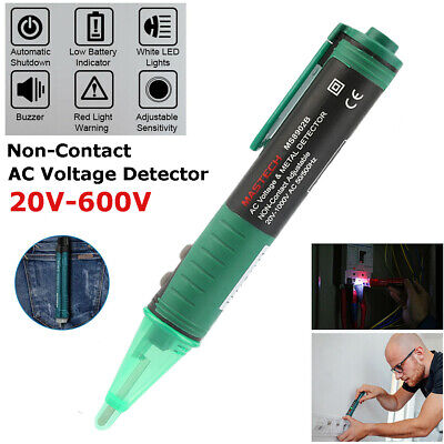Electric Ac Voltage Detector Pen Non-contact Tester 20v-600v Pocket-sized Tool