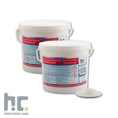 4 x 5 Kg Chlor Granulat für Pool Desinfektion Versandkostenfrei