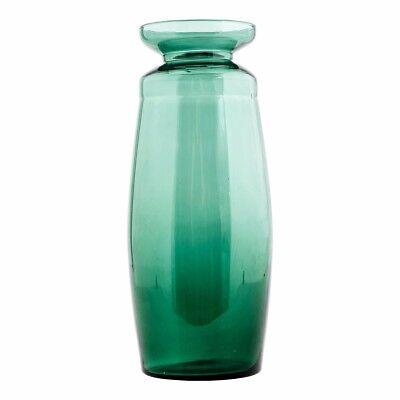 House Doctor Green Glass Vase