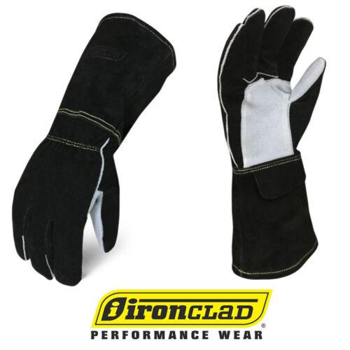 IronClad WMIG Welder Buffalo Cowhide MIG Leather Welding Gloves - Select Size