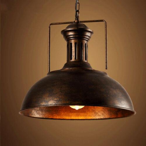 "Industrial Nautical Barn Pendant Light 16"" Single Pendant La"