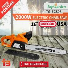 "Top Garden 2000W 16"" OREGON Electric Chainsaw e-Start Fairfield East Fairfield Area Preview"