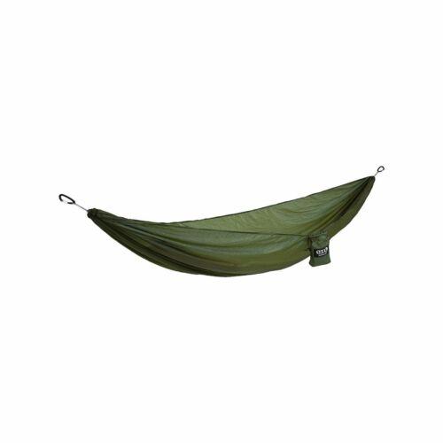 ENO Sub7 6.5oz Lightweight Nylon Hammock Parachute Green Camp Hiking Brand New