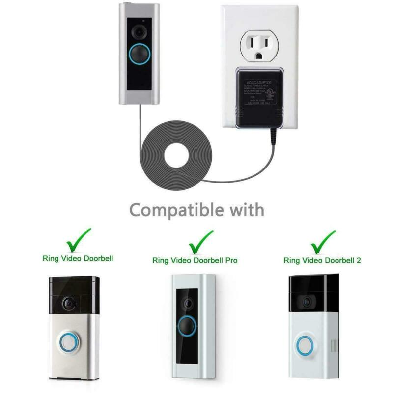 For Ring Video Doorbell 2 Power Supply Battery Charger Power Adapter Cord New