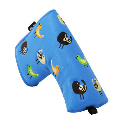 Birdies Blade Putter Head Cover Golf Club Headcovers For Yes Ping Putter Cover ()
