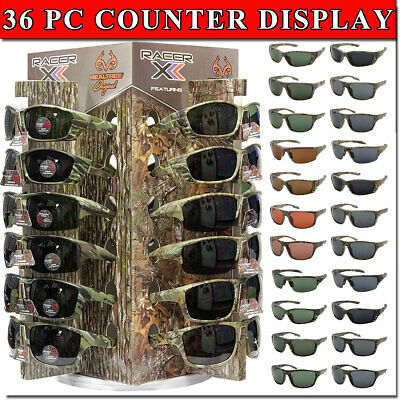 Sunglass Counter Display Spinning Bottom Retail Ready Glasses Included New Style