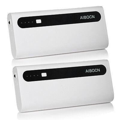 2X 10000mAh External Battery Portable Charger Dual USB Power