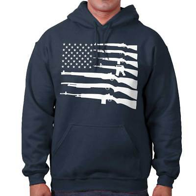 United States of America American Flag 2nd Amendment Gift Hooded Sweatshirt America Hooded Sweatshirt