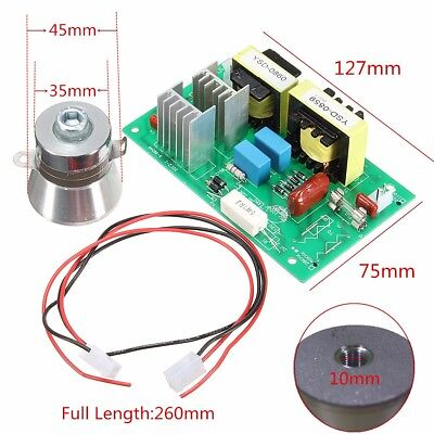 100w 40khz Ultrasonic Cleaning Transducer Cleaner 50w Power Driver Board 220vac
