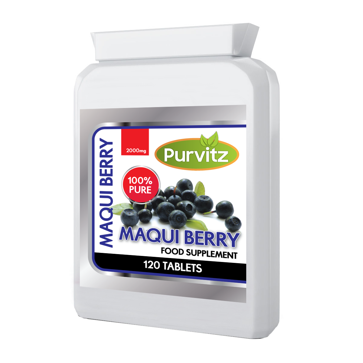 Maqui Berry Strong Weight Loss Antioxidant Tablets Speeds Up