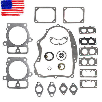 Engine Gasket Seal O ring Set For Briggs & Stratton 405777 406777 407677 407777