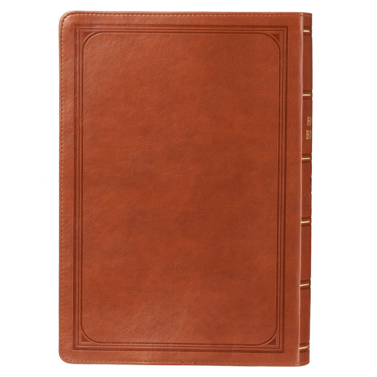 KJV HOLY BIBLE King James Version Giant Print Faux Leather Edition Tan NEW