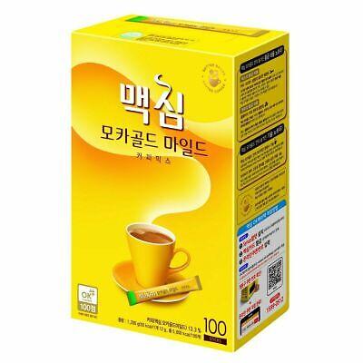 Maxim Mocha Gold Mild Coffee Mix 12g x 100T / Korean Instant Easy Cut Coffee