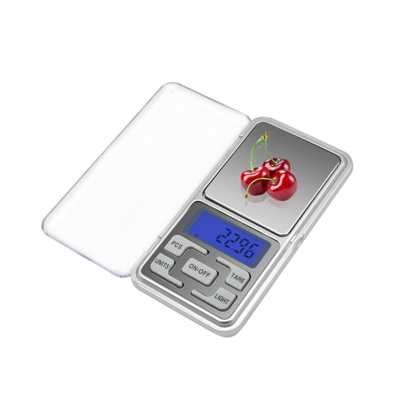 Digital Pocket Gram Scales Jewelry Weight Electronic Balance Scales 500g 0.01g