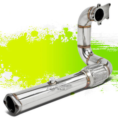 FOR HONDA ACURA D/B SERIES CIVIC T304 STAINLESS T3 TURBO DOWNPIPE DOWN PIPE (Down Pipe Turbo Series)