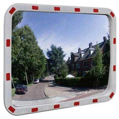 Verkehrsspiegel Überwachungsspiegel Sicherheitsspiegel mit Reflektoren Spiegel